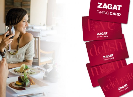 Zagat Dining Card