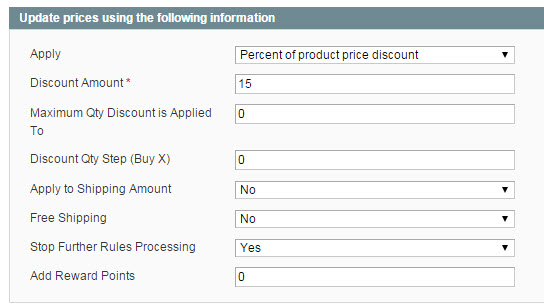 Magento Tiered Price Promotion | First Tier Actions