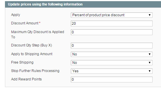 Magento Tiered Price Promotion | Second Tier Actions
