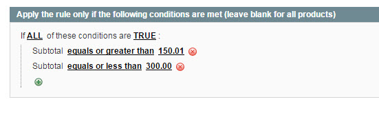 Magento Tiered Price Promotion   Second Tier Conditions