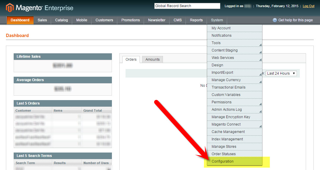 System Configuration in Magento | How to Update the Copyright Year in Magento