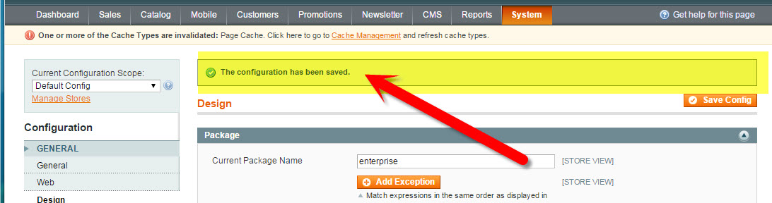How to Update the Copyright Year in Magento