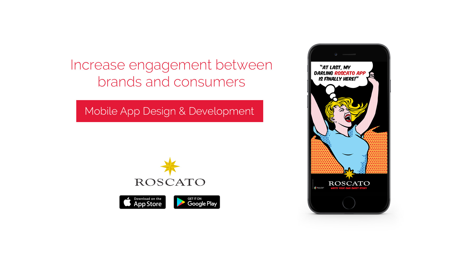 roscato mobile app development